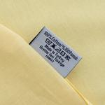 Düz Pamuklu Çift Kişilik Çarşaf 240x260 Cm Sarı