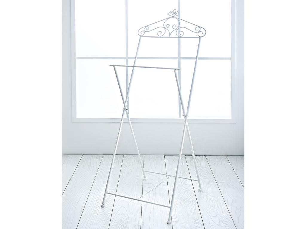 Ella Ferforje Dılsız Uşak 48x52x123 Cm Beyaz