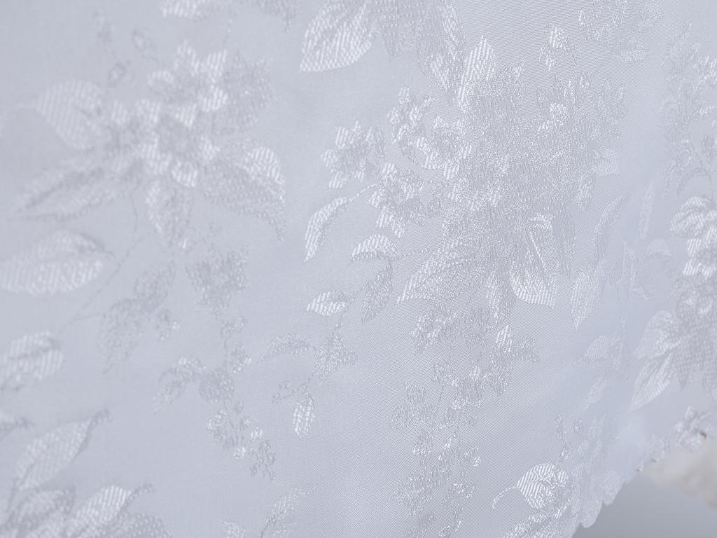 Kate Polyester Masa Örtüsü 160x200 Cm Taş Rengi