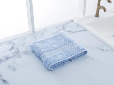 Pure Basic Yüz Havlusu 50x90 Cm Mavi