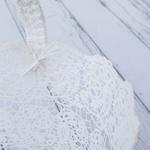 Shannon Tığ İşi Çanta 37x24x30 Cm Beyaz