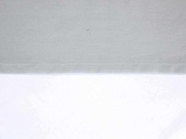 Düz Pamuklu Çift Kişilik Çarşaf 240X260 Cm Gri