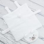 Polar Bear Wellsoft Çocuk Sandelye Minder 40x40 Cm Beyaz