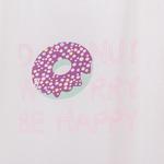 Donut Pamuklu Keseli Pıjama Takımı S Mavi