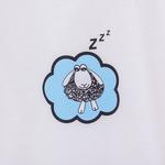 Sleepy Sheeps Pamuklu Keseli Çocuk Pıjama Takımı 7-8 Yaş Mavi