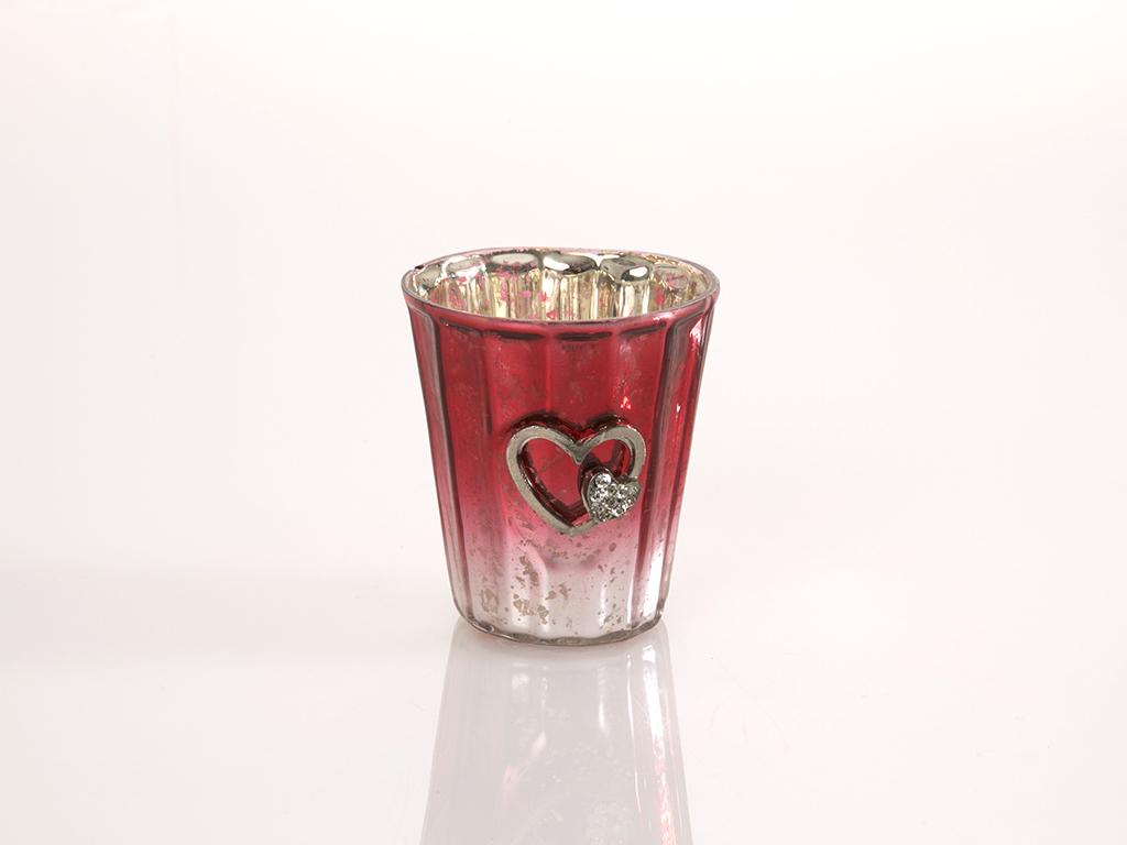 Love Cam Mumluk 3,0x2,5 Cm Kırmızı