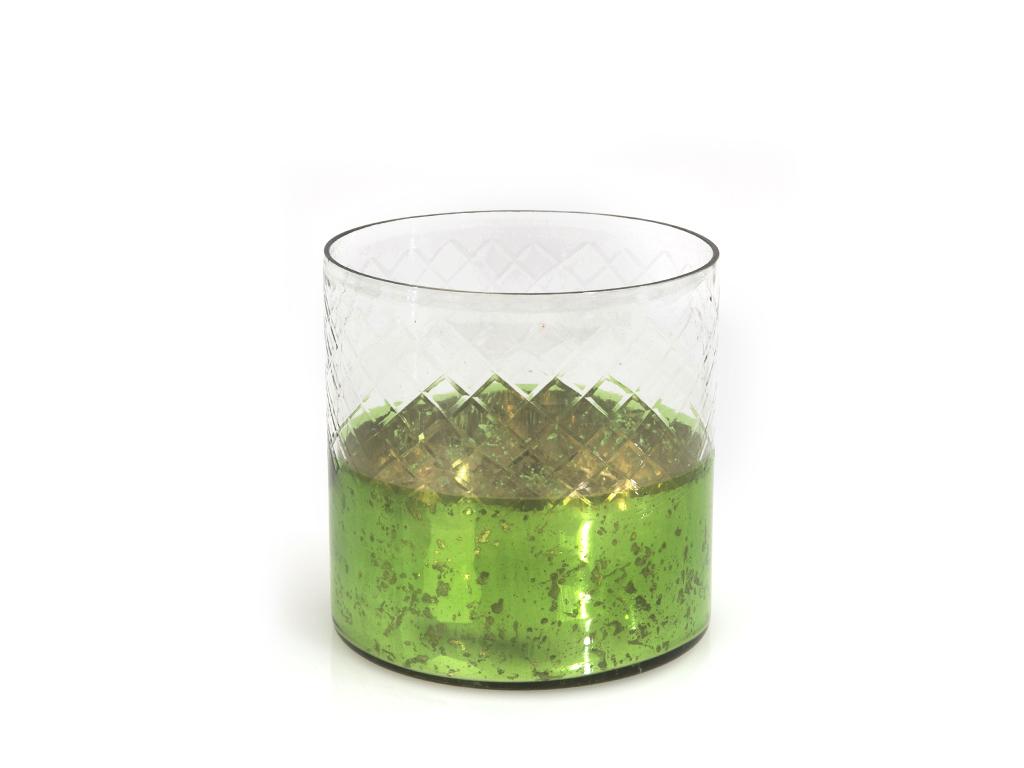 Holly Cam Mumluk 12,70x12,70 Cm Yeşil