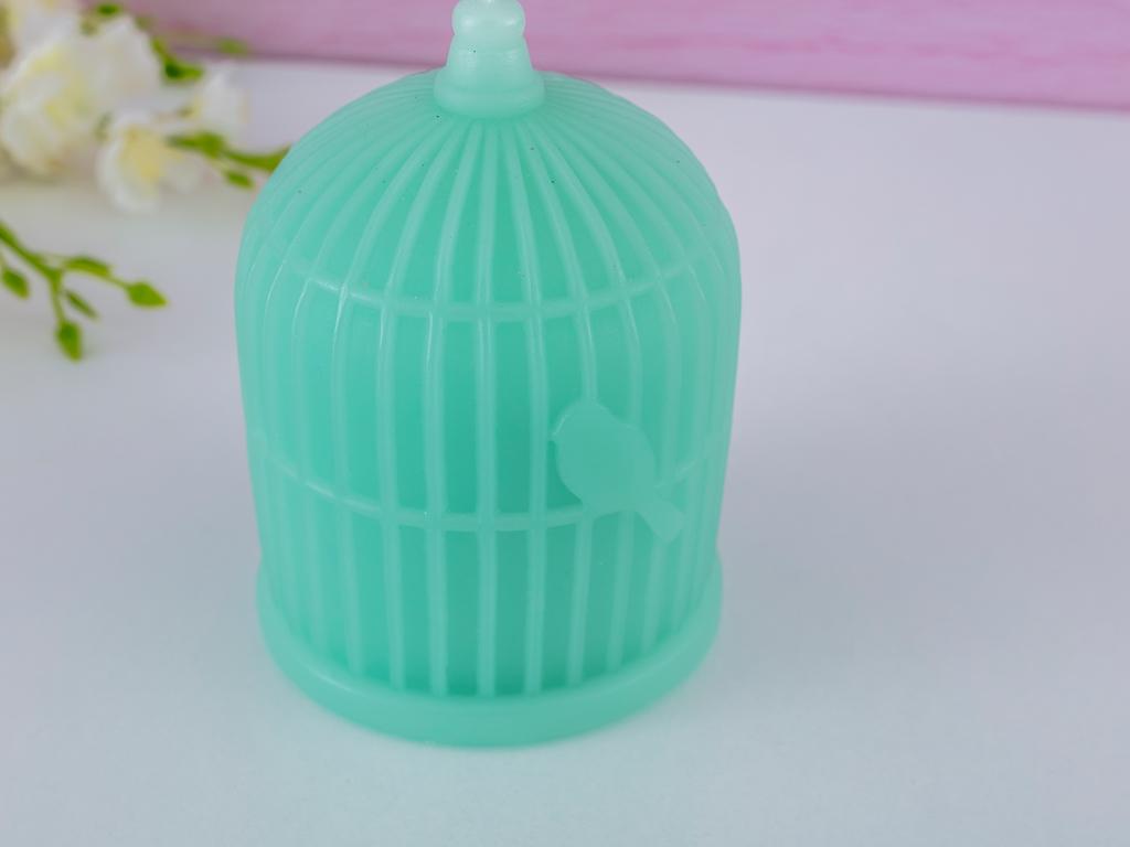 Cage Mum 9x9x12 Cm Yeşil