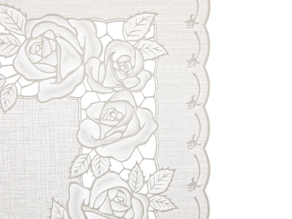 Rosy Vinil Amerıkan Servıs 30x45 Cm Beyaz