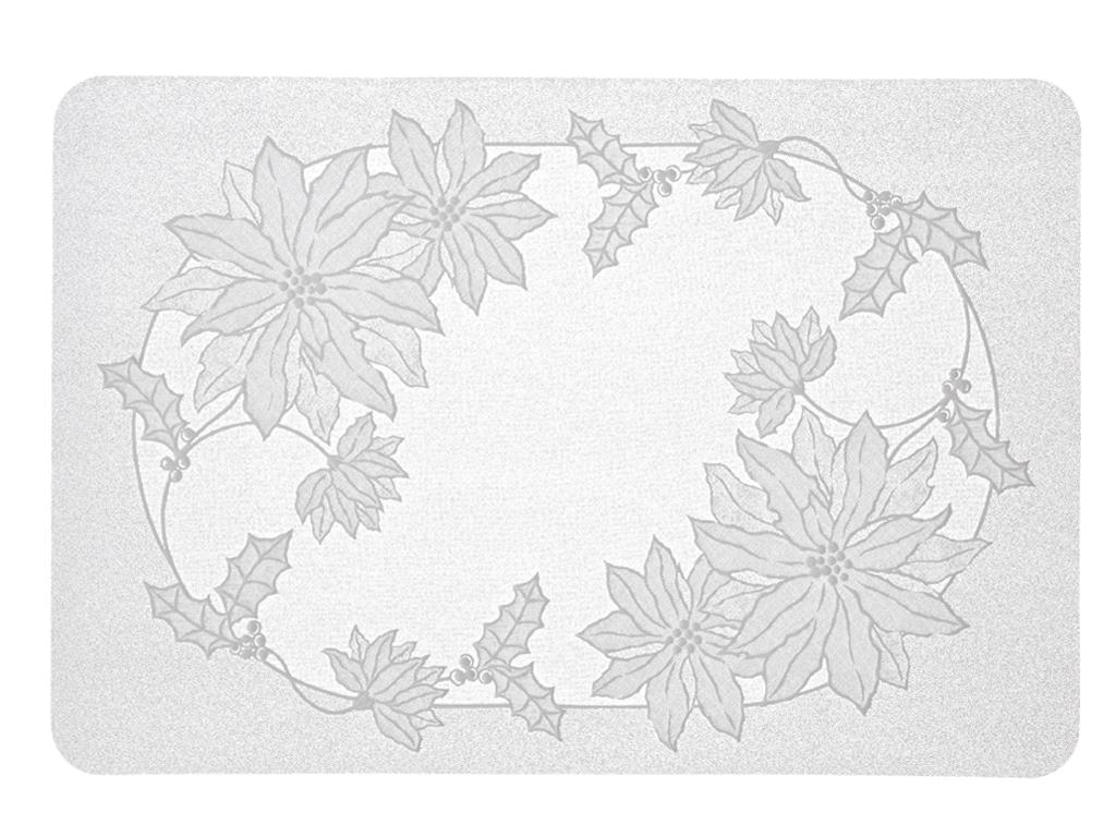 Lady Vinil Amerıkan Servıs 30x45 Cm Beyaz