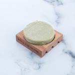 Lavander Ahşap Sabunluklu Sabun 100 Gr Yeşil