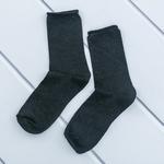 Simli Polyamid Bayan Soket Çorap 35-39 Siyah