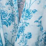 Rambler Rose Viskon Bayan Sabahlık S-m Mavi