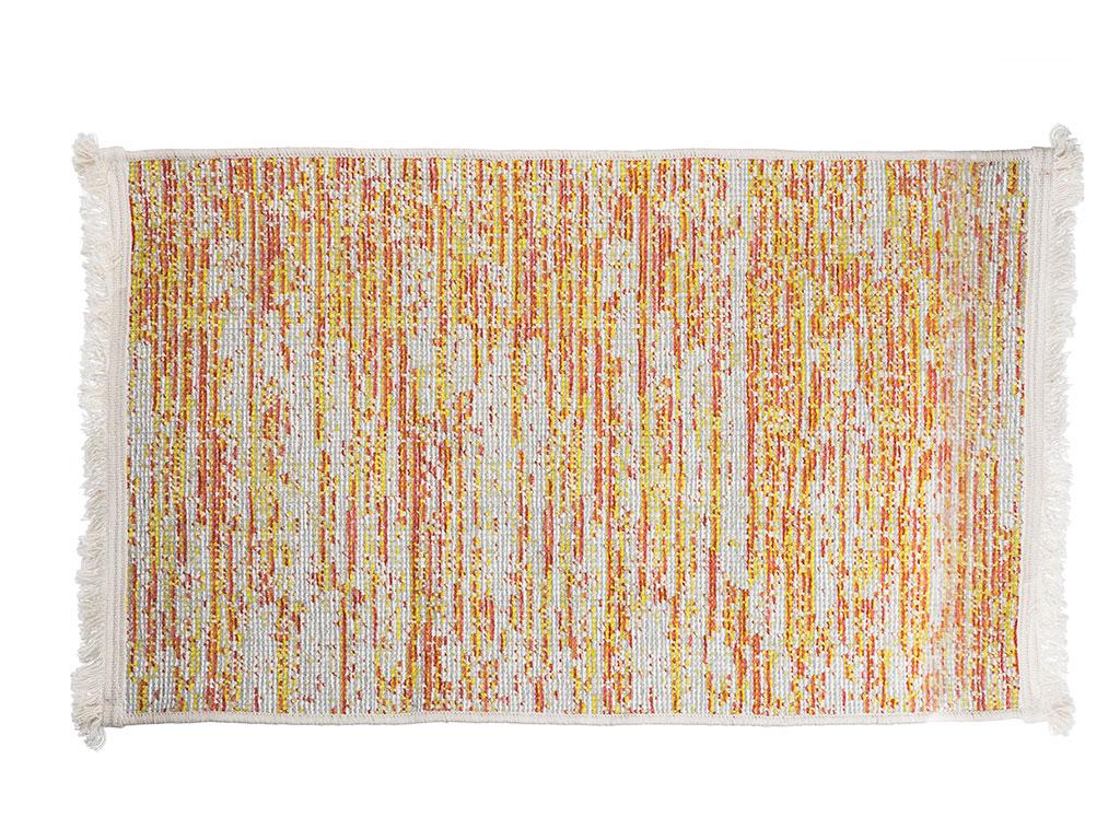 Multi Colors Şönil Şönil Halı 80x150 Cm Turuncu