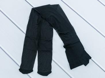 Düz Fit 15 Külotlu Çorap 1 Siyah