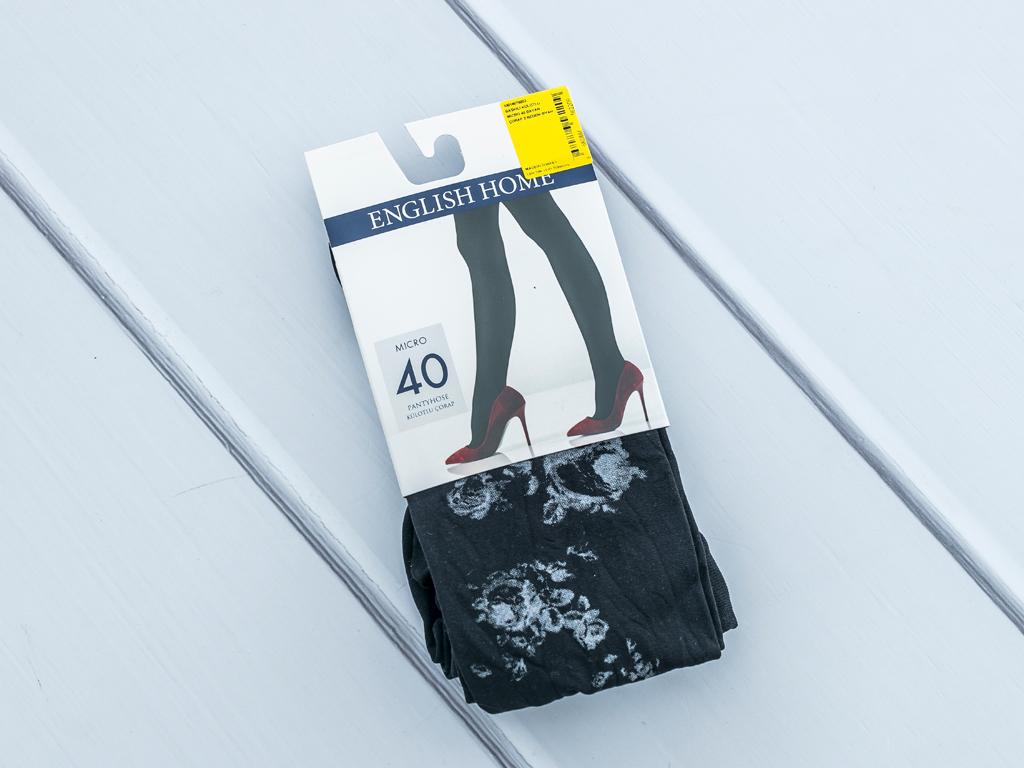Black Magic Micro 40 Külotlu Çorap 3 Siyah