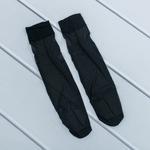 Düz Fit 15 Diz Altı Çorap 35 - 39 Siyah