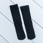 Düz Micro 40 Diz Altı Çorap 35 - 39 Siyah