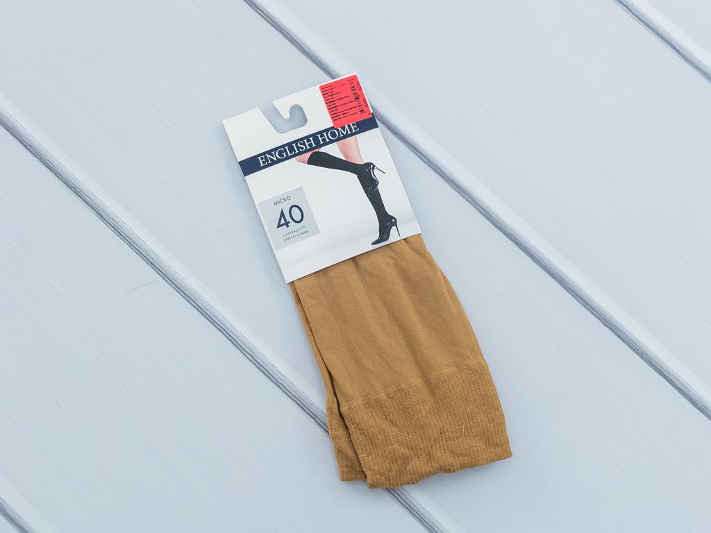 Düz Micro 40 Diz Altı Çorap 35 - 39 Ten