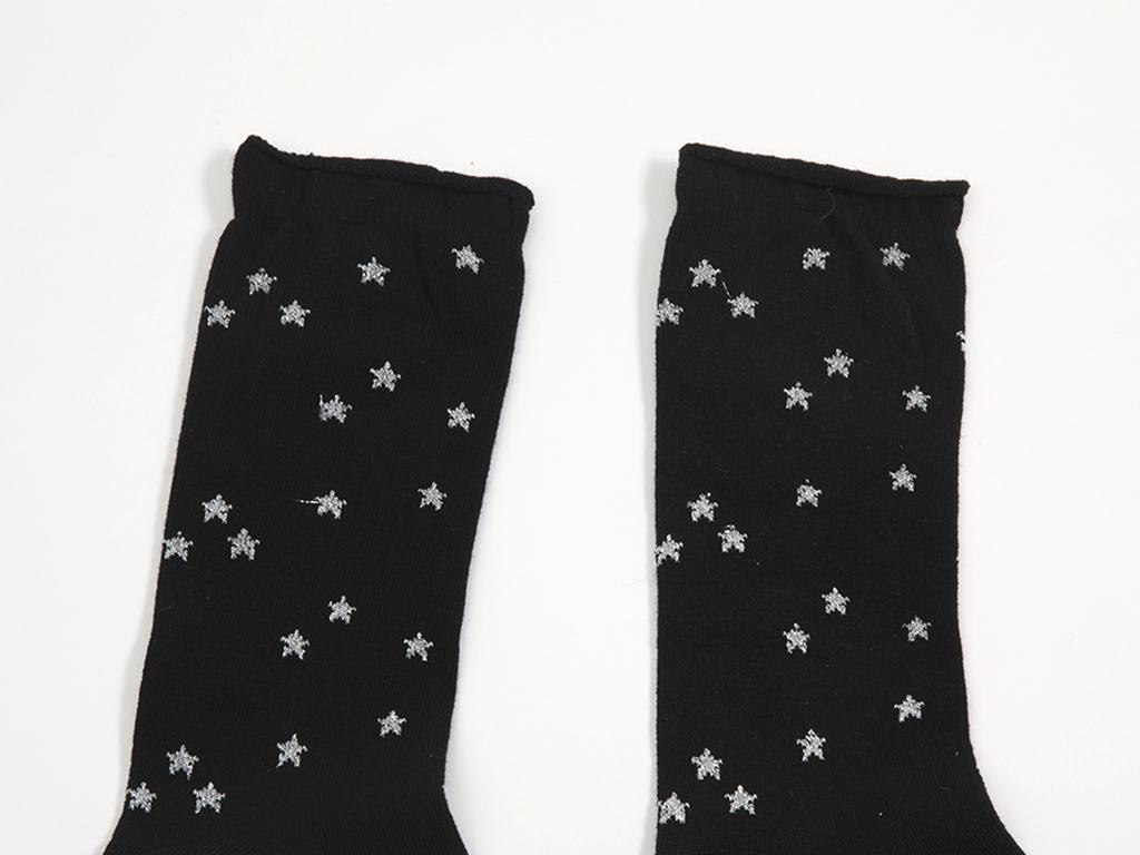 Bella Pamuklu Bayan Soket Çorap 35-39 Siyah