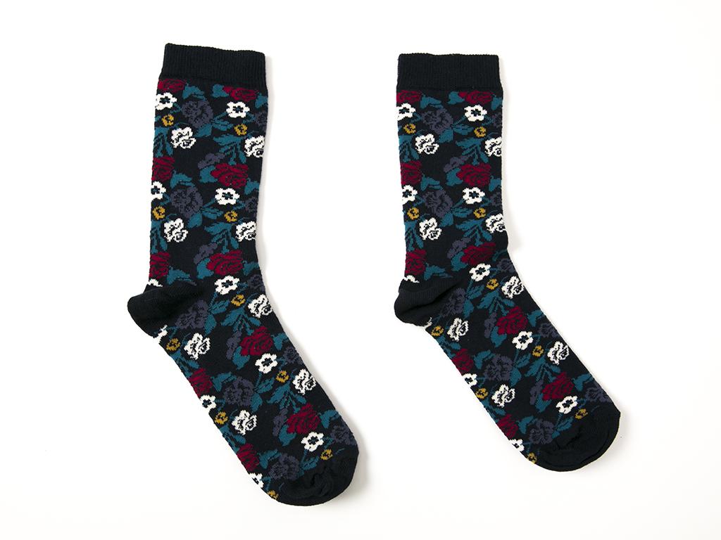Secret Garden Pamuklu Bayan Soket Çorap 35-39 Lacivert