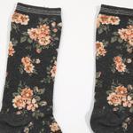 Blossom Pamuklu Bayan Soket Çorap 35-39 Siyah