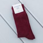 Basic Soft Erkek Soket Çorap Çorap 40-44 Bordo