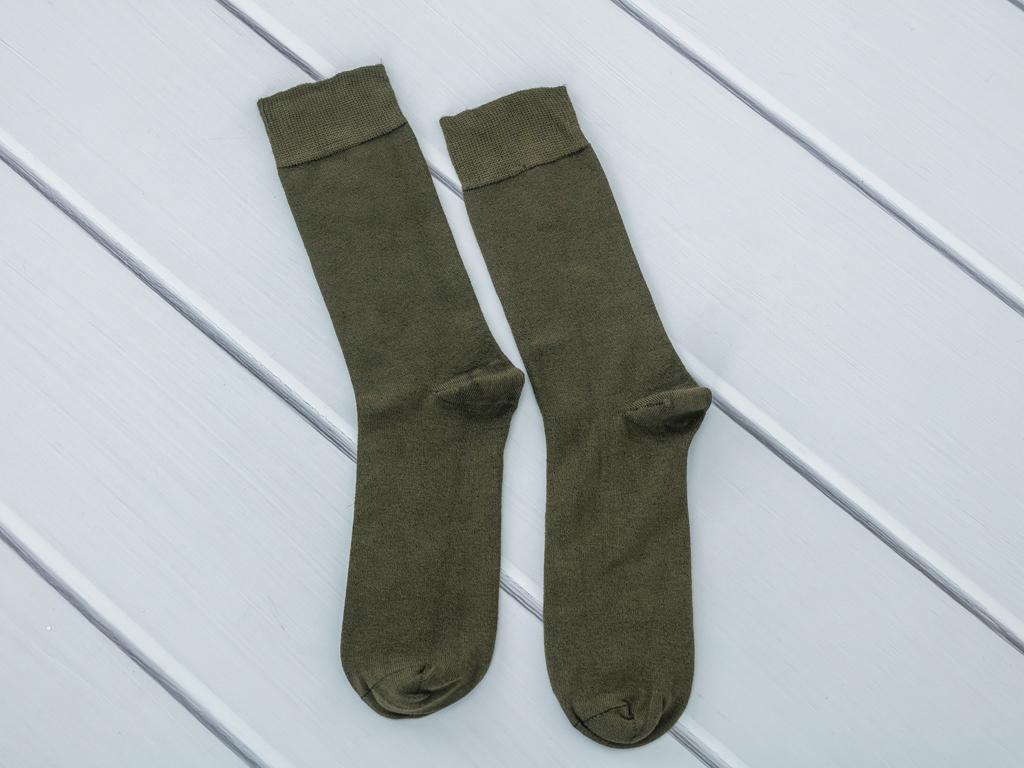 Basic Soft Erkek Soket Çorap Çorap 40-44 Yeşil