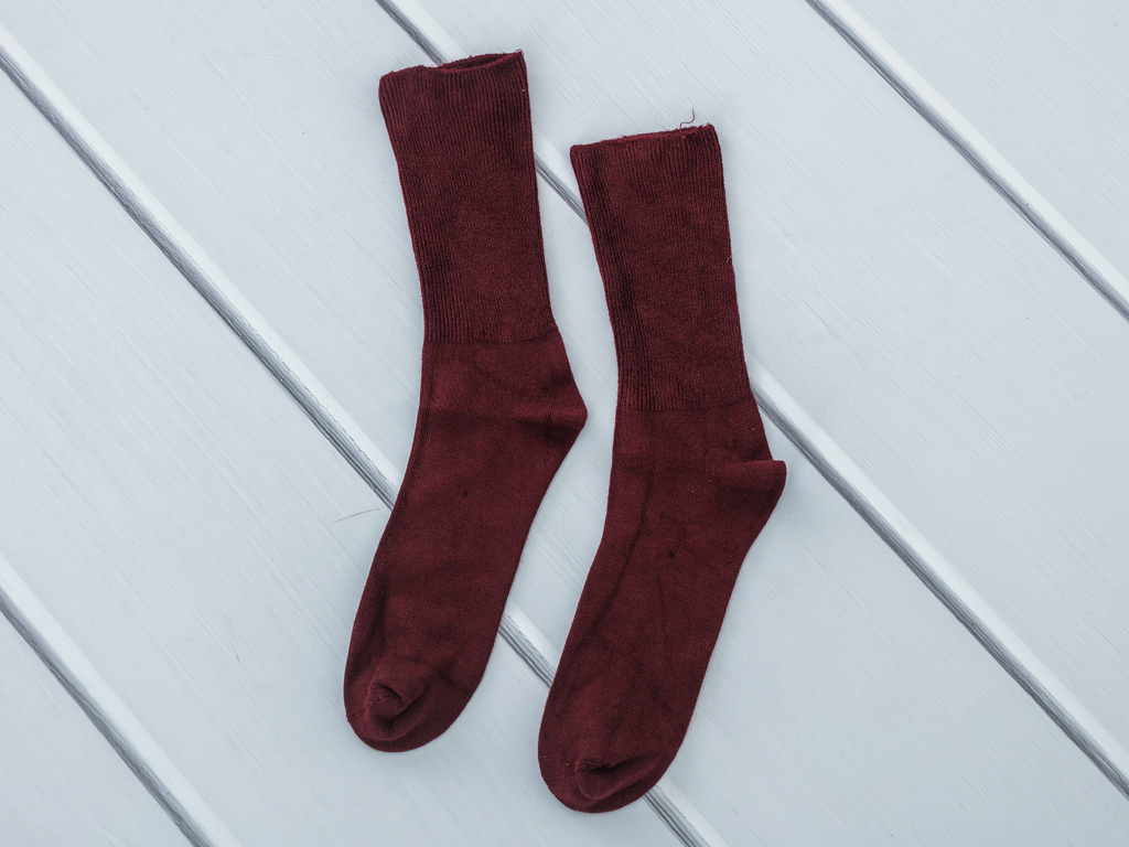 Basic Soft Bayan Soket Çorap 35-39 Bordo