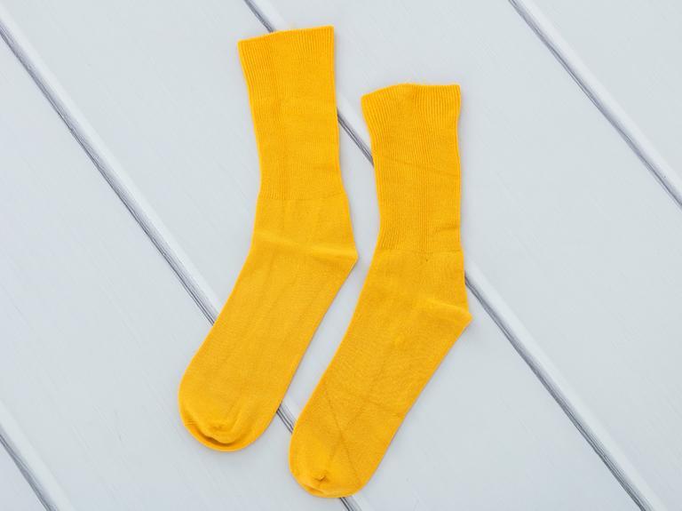 Basic Soft Bayan Soket Çorap 35-39 Sarı