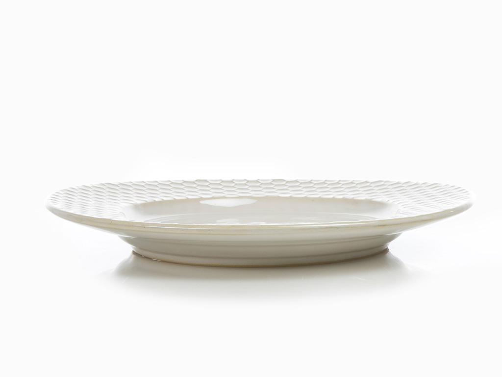 Golden Life Stoneware Pasta Tabağı 20 Cm Krem
