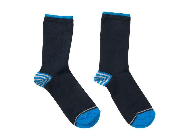 Stripe Çocuk Çorap 2-4 Yaş Mavi