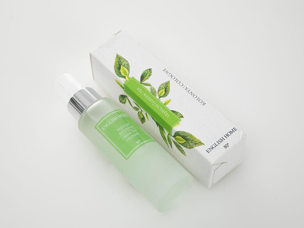Yeşil Çay Kolonya 60 Ml Beyaz