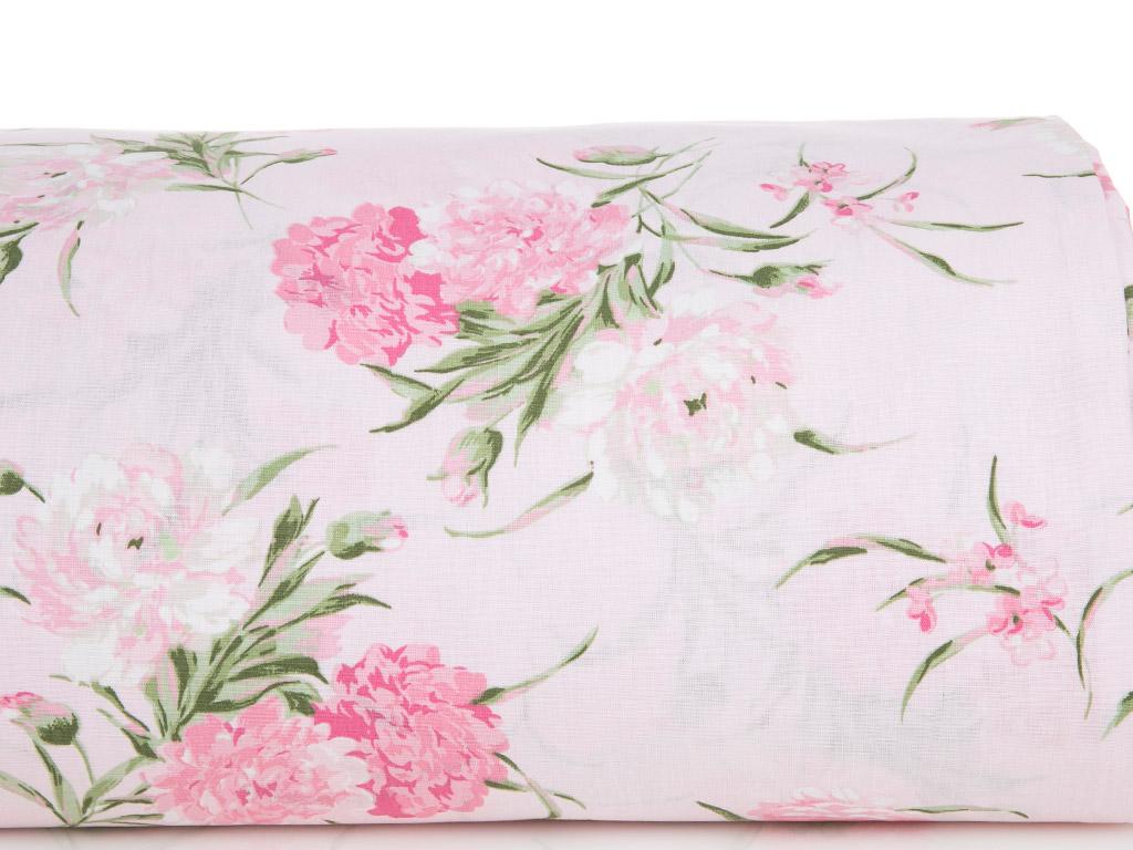 Carnation Pamuklu Tek Kişilik Nevresım 160x220 Cm Pembe