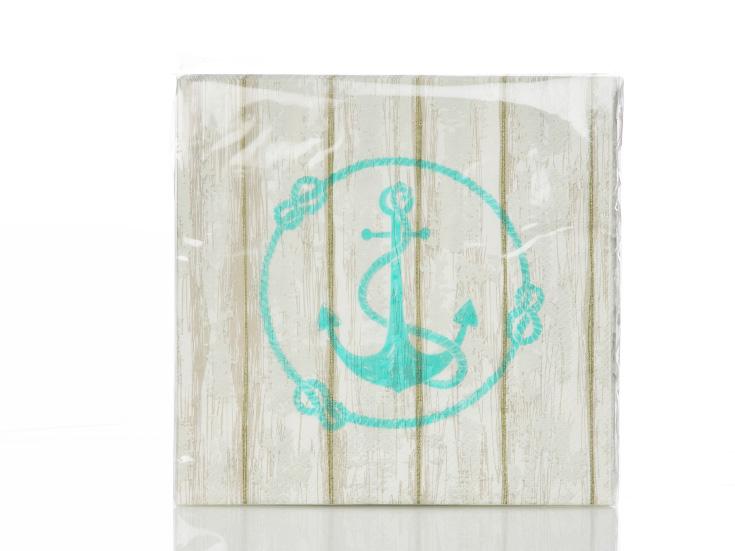 Anchor Kağıt Kağıt Peçete 33x33 Cm Mavi