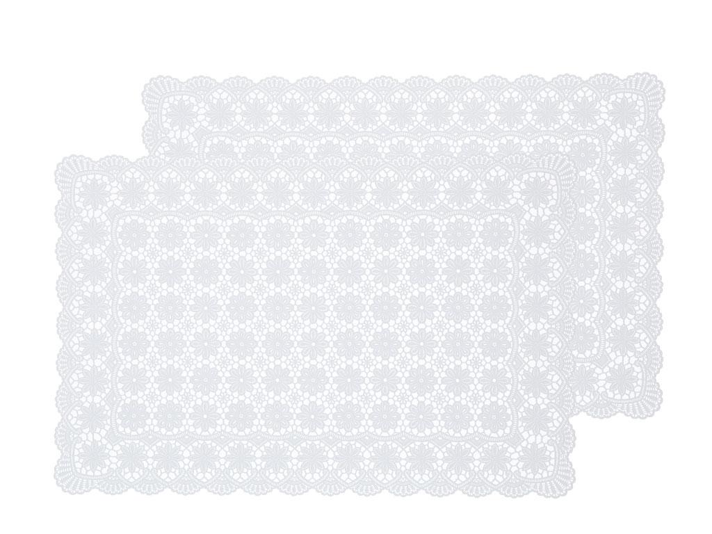 Daisy Vinil 2'li Amerikan Servis 30x45 Cm Beyaz