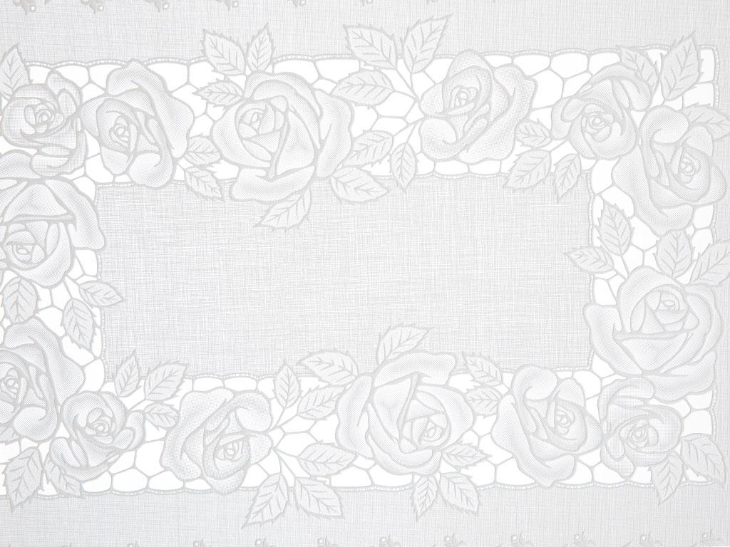 Rosy Vinil 2'li Amerikan Servis 30x45 Cm Beyaz