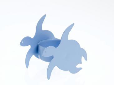 Caretta Metal Mumluk 6,7x4,3x6 Cm Mavi