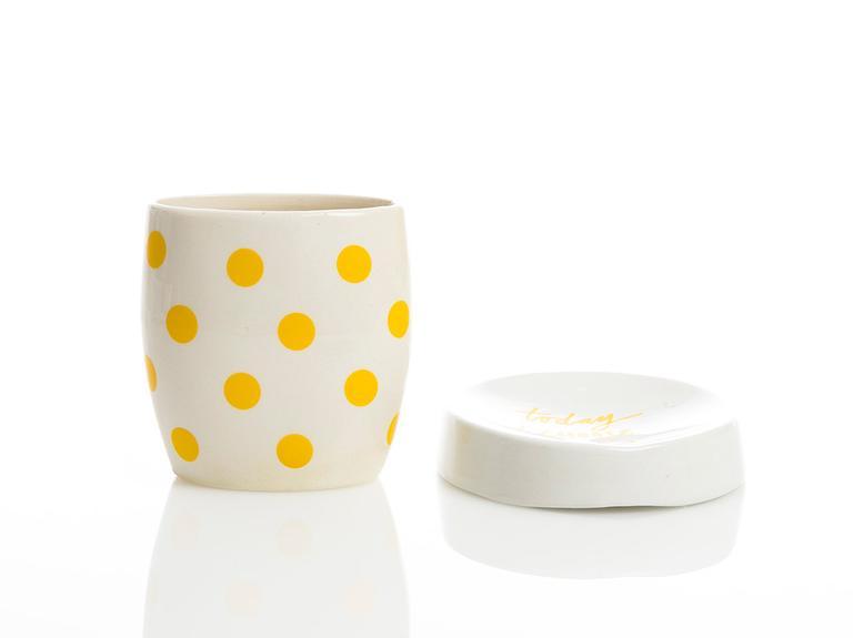 Happy Seramik 2'li Banyo Seti 11x8-13,4x10,5cm Sarı