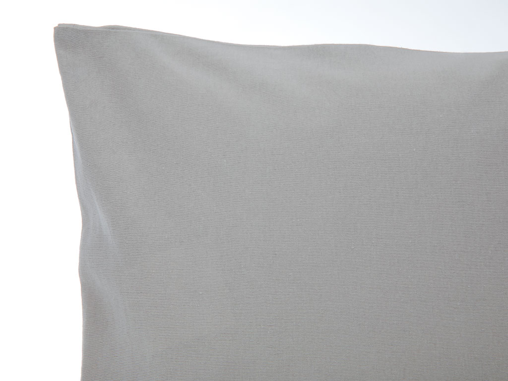 Düz Penye Bebe Yastık Kılıfı 35x45 Cm Gri