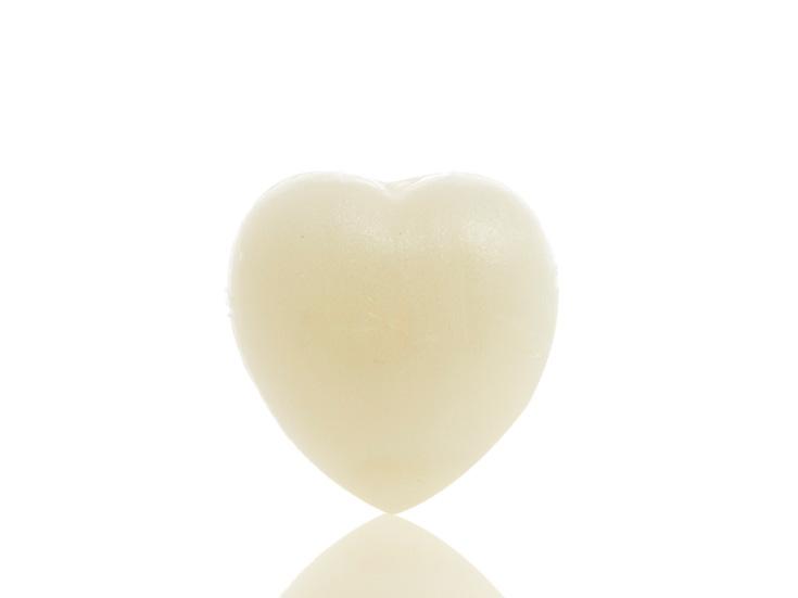Love Kalp Şekilli Sabun 33 Gr Beyaz
