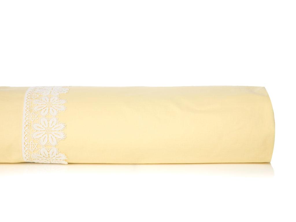 Daisy Kopanakili Tek Kişilik Nevresim 160x220 Cm Sarı