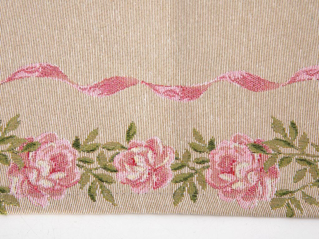 Pink Roses Goblen Runner 35x105 Cm Açık Pembe