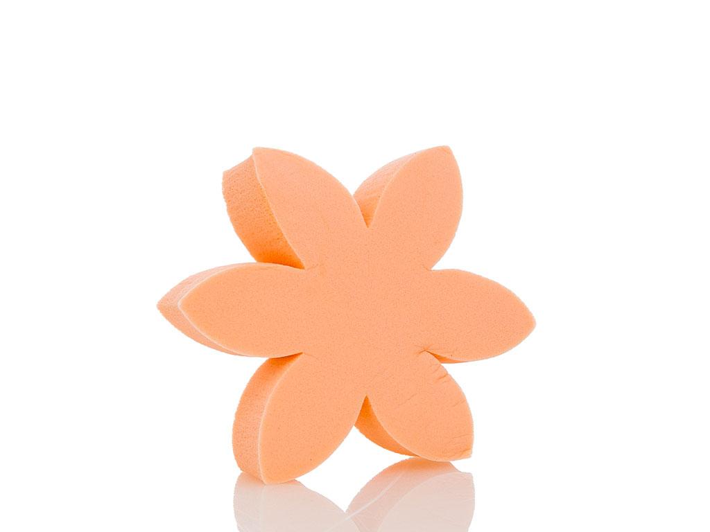 Bloom Çiçek Makyaj Süngerı 17x10x2 Cm Bej