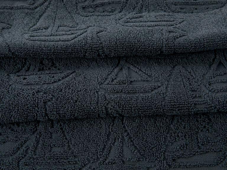 Ocean Race Jakarlı El Havlusu 30x45 Cm Lacivert