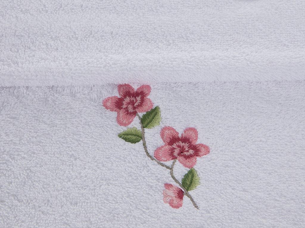 Pupa Garden Nakışlı El Havlusu 30x45 Cm Beyaz