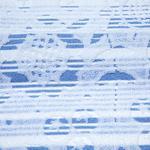 Daisy Line Jakarlı Saçaklı El Havlusu 30x45 Cm Mavi