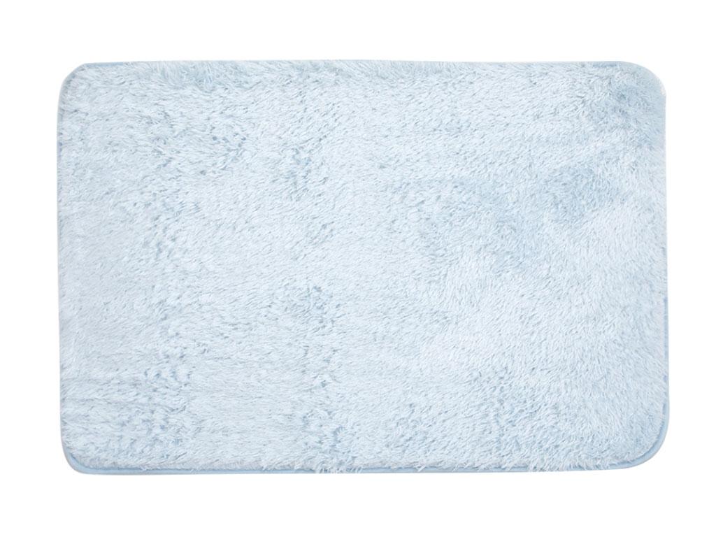 Ocean Blue Peluş Banyo Paspası 60x90 Cm Açık Mavi