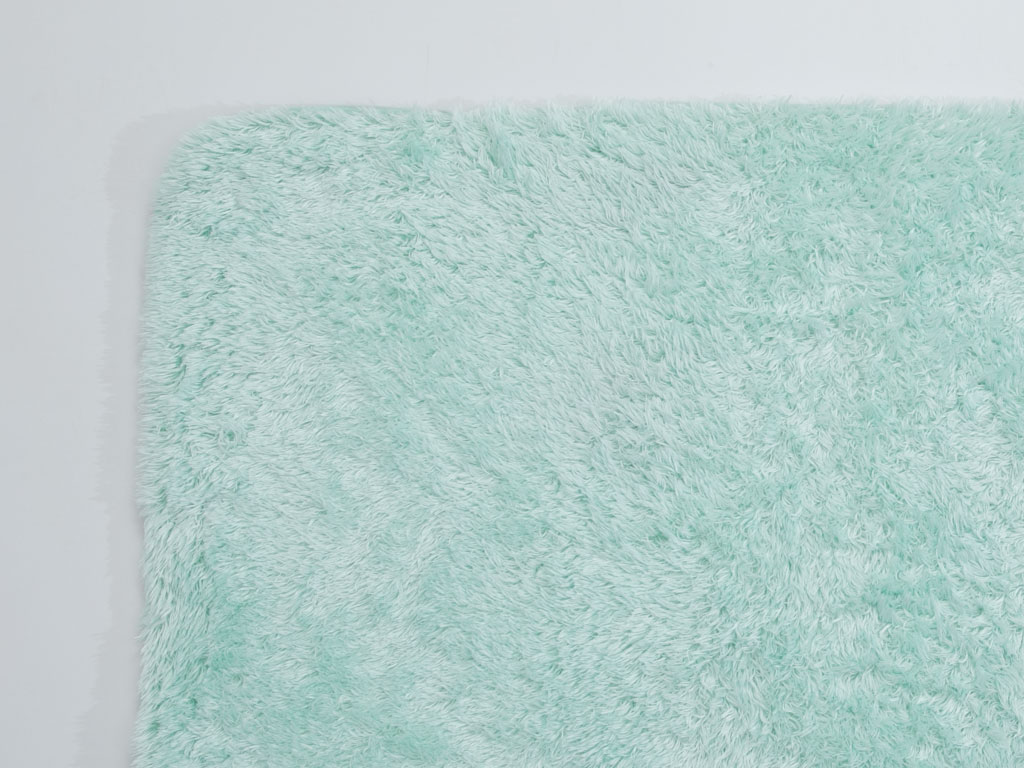 Sea Shore Peluş Banyo Paspası 60x90 Cm Mint