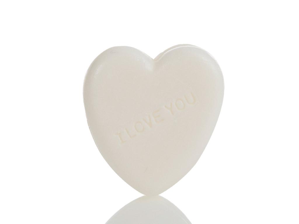 Rosy Kalp Şekilli Sabun 60 Gr Beyaz